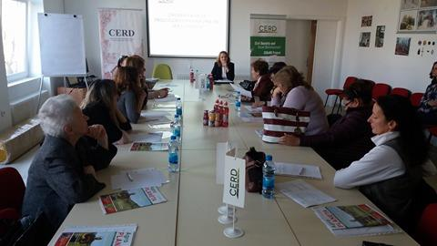 Održan trening udruženjima žena