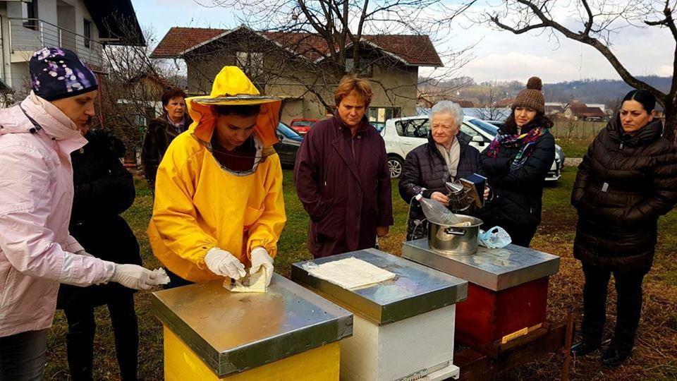 Obuka: Zimsko tretiranje pčela