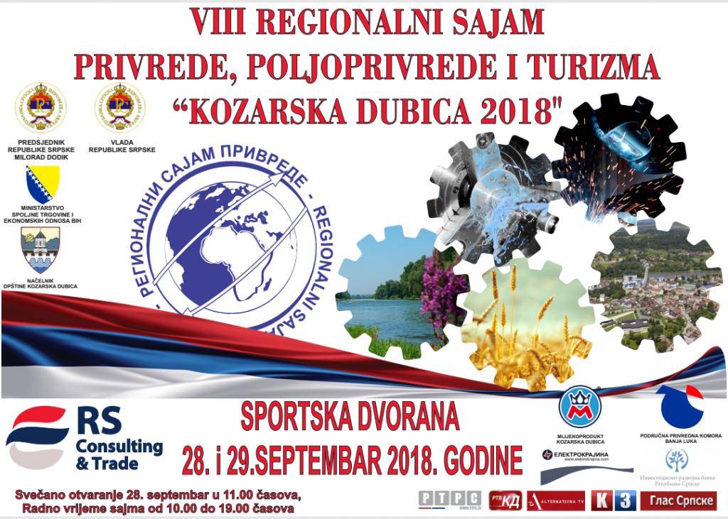 Regionalni sajam u Kozarskoj Dubici